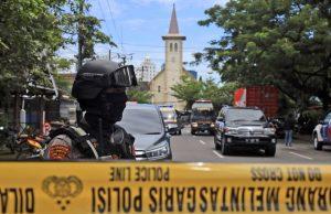Около церкви в Индонезии прогремел взрыв