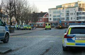 Мужчина в Швеции ранил 8 случайных прохожих