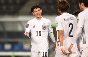 Футбольная сборная Японии победила Монголию со счетом 14:0