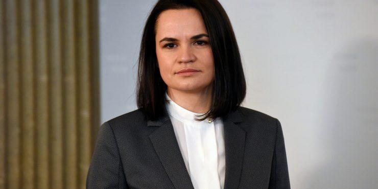 Тихановская призвала РФ поддержать ее диалог с Лукашенко