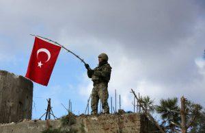 В Турции потерпел крушения военный самолет