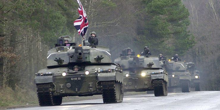 Минобороны Великобритании: РФ – главная военная угроза