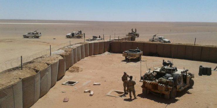 Американская военная база подверглась обстрелу в Сирии