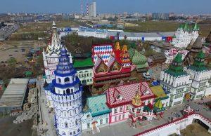 Пожар в Измайловском Кремле