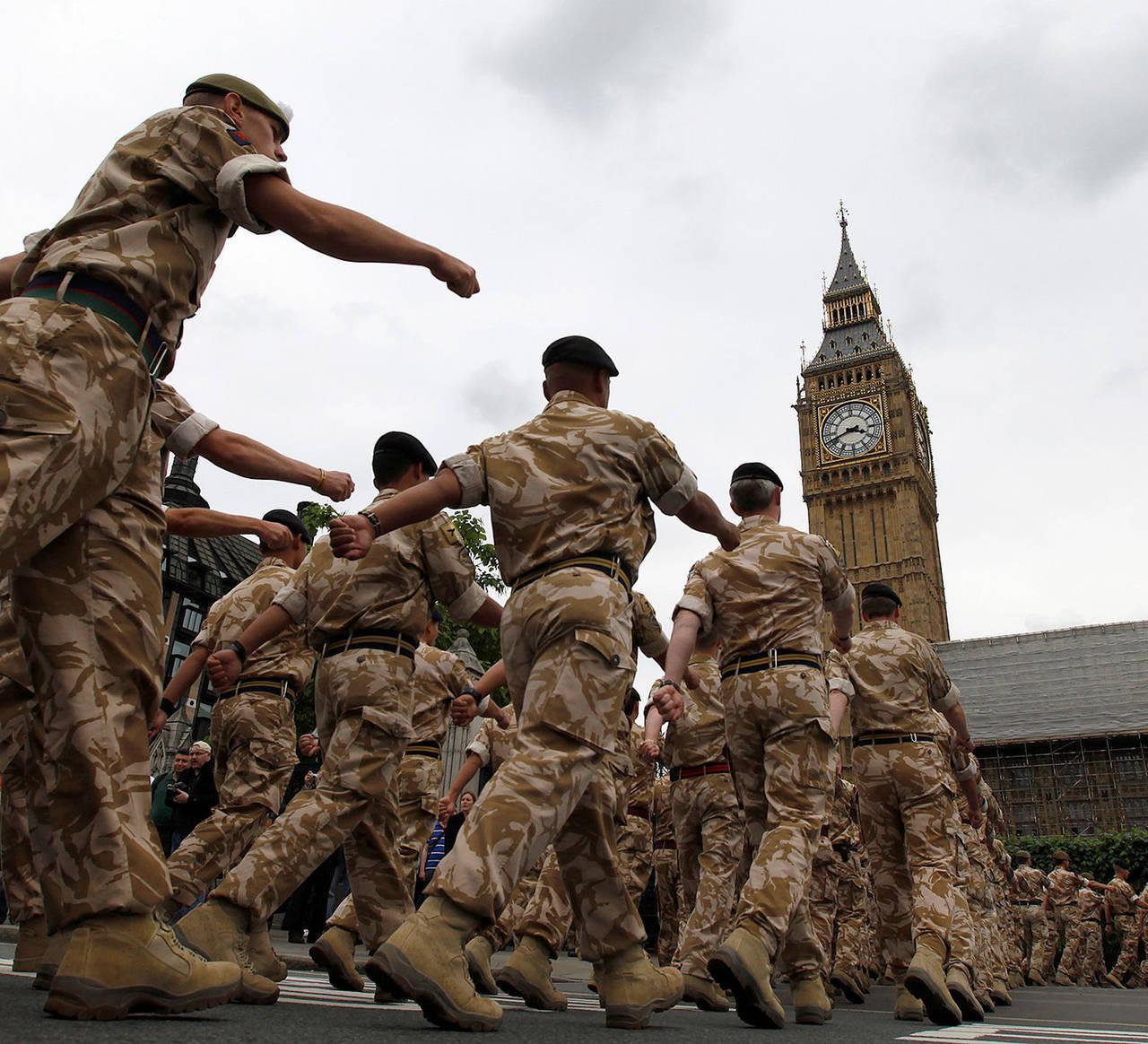 Британская армия приведена в повышенную боеготовность из-за России