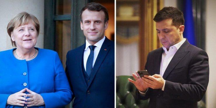 В течение недели Франция, Украина и Германия проведут переговоры