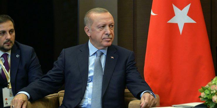 Эрдоган подтвердил, что не собирается признавать «аннексию Крыма»