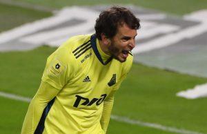 Маринато Гильерме дисквалифицировал на 2 матча и оштрафован на 50 тыс. рублей