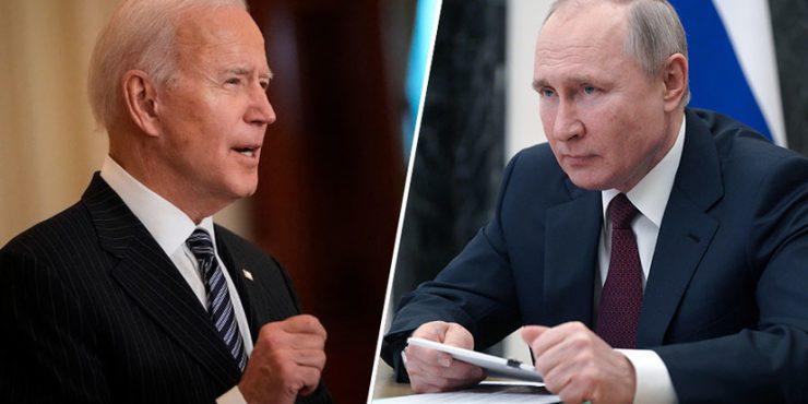 Путин и Байден обсудили встречу в третьей стране