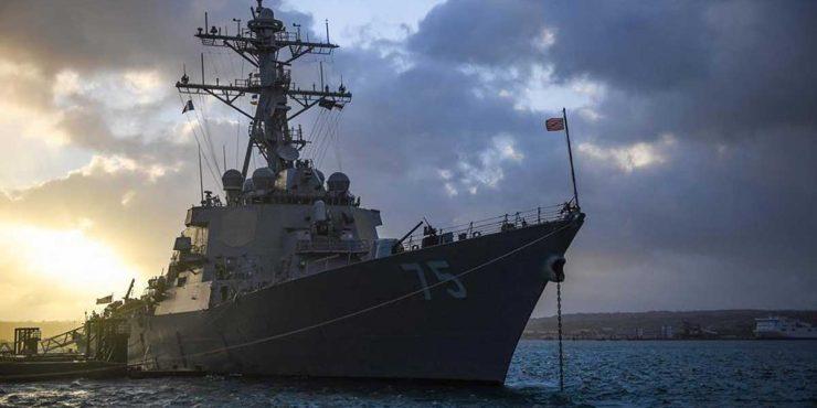 Америка отменила отправку своих военных кораблей в Черное море