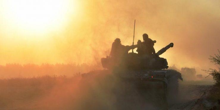 Стартовали украинские военные учения у границ Крыма