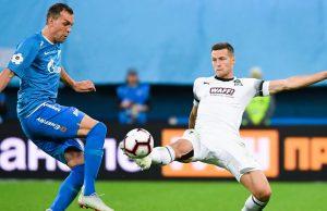 «Краснодар» сыграл вничью с «Зенитом» в матче РПЛ