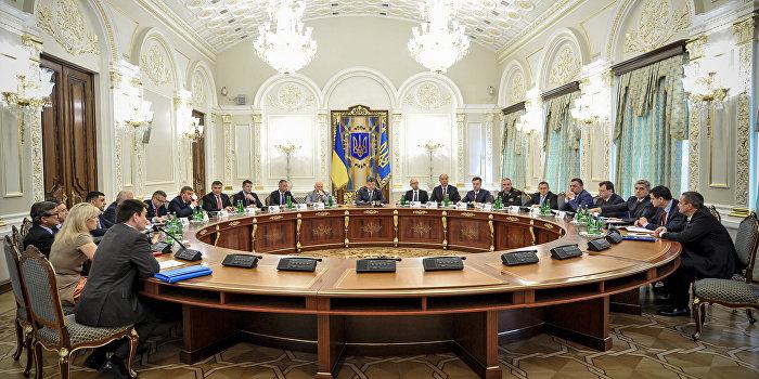 Совбез Украины ввел санкции против некоторых россиян