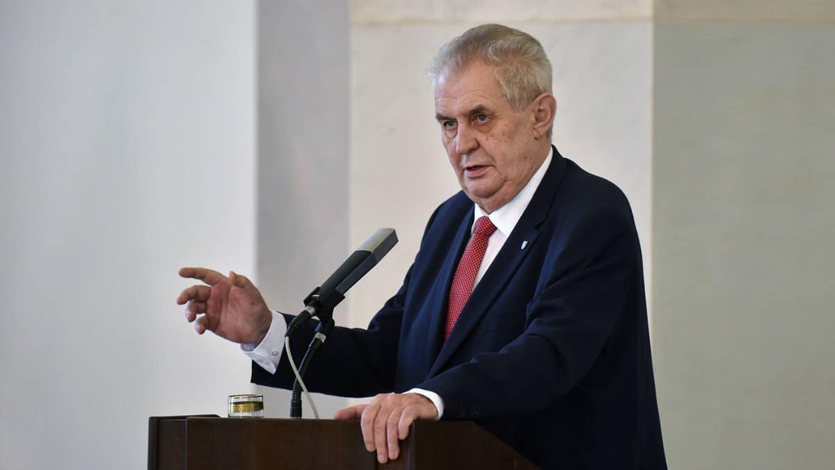 Глава Чехии выступит с обращением по поводу происшествия во Врбетице 25 апреля