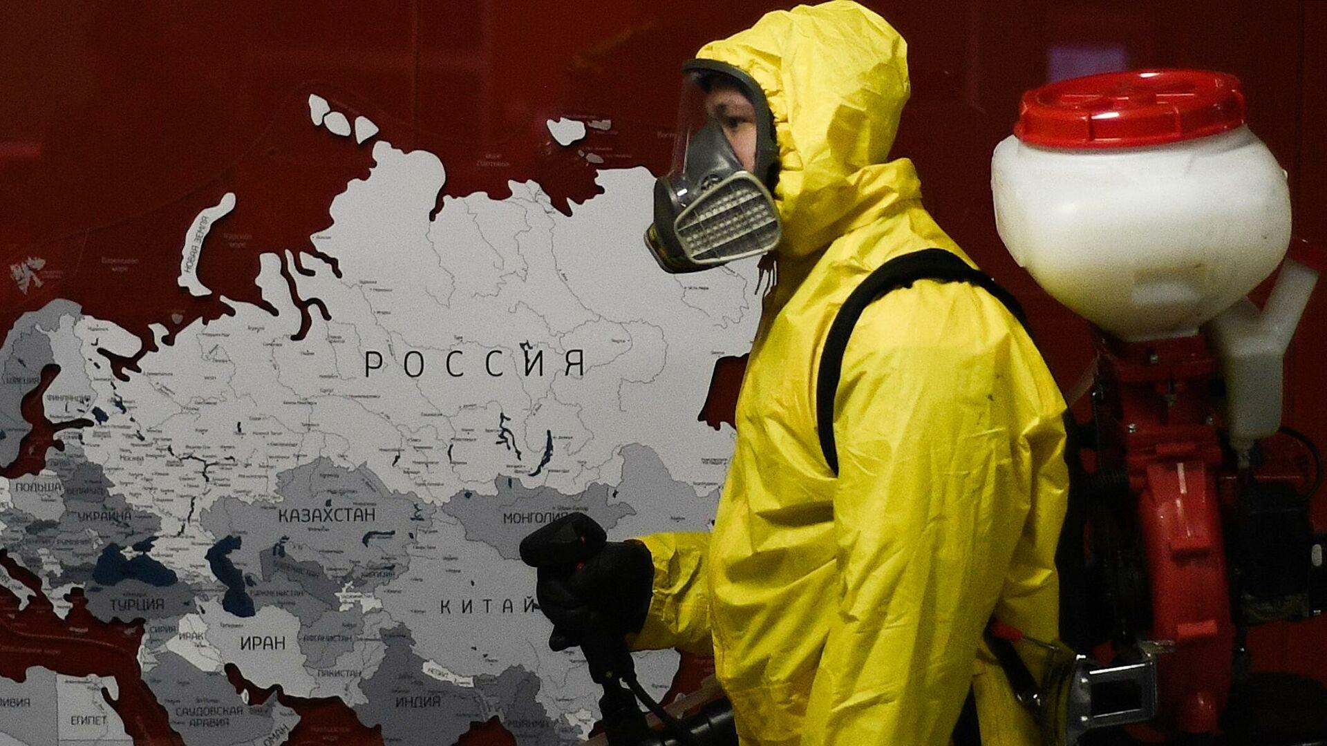 В России началась третья волна коронавируса