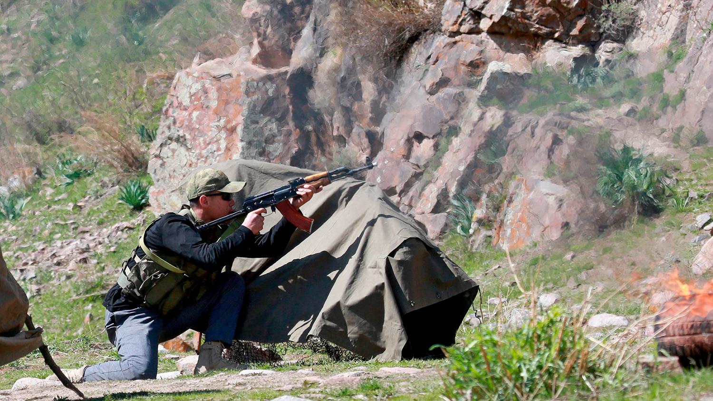 Возобновилась перестрелка на границе Киргизии и Таджикистана