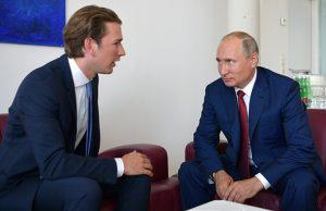 Путин и Курц обсудили будущее экономического сотрудничества