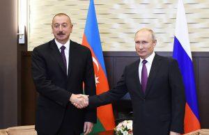 Путин обсудил сложившуюся в Нагорном Карабахе ситуацию с Алиевым