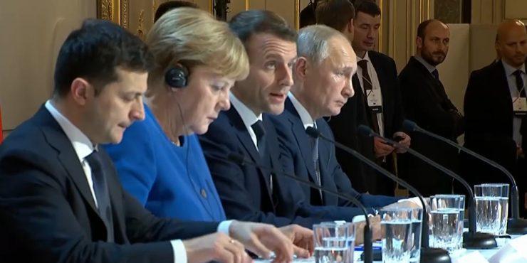 Меркель, Макрон и Зеленский проведут совещание без Путина