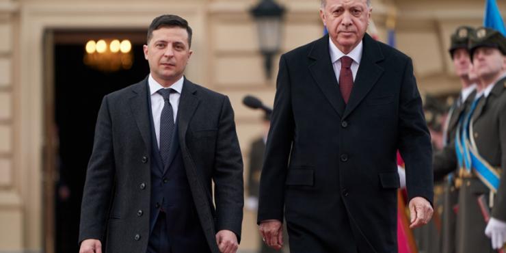 Владимир Зеленский встретится с президентом Турции Эндоганом по вопросам ситуации на Донбассе