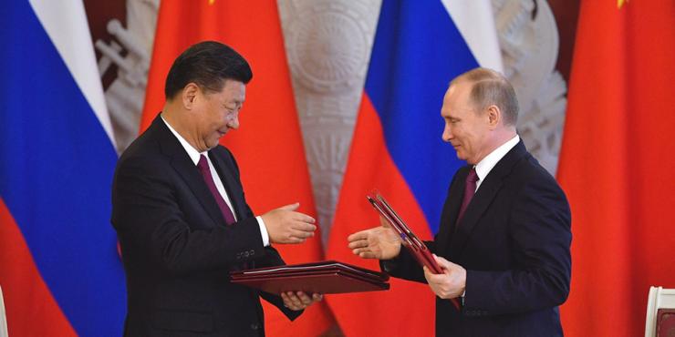 Китай выразил поддержку в отношении политики Владимира Путина и его решений по стимулированию развития России