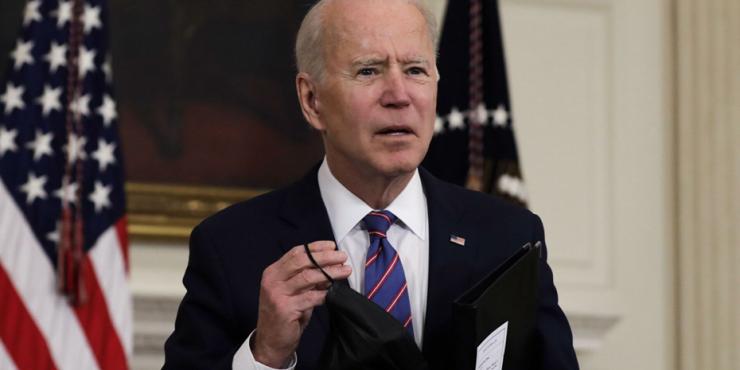 Байден заявил, что США добились «ошеломительного прогресса» в борьбе с пандемией