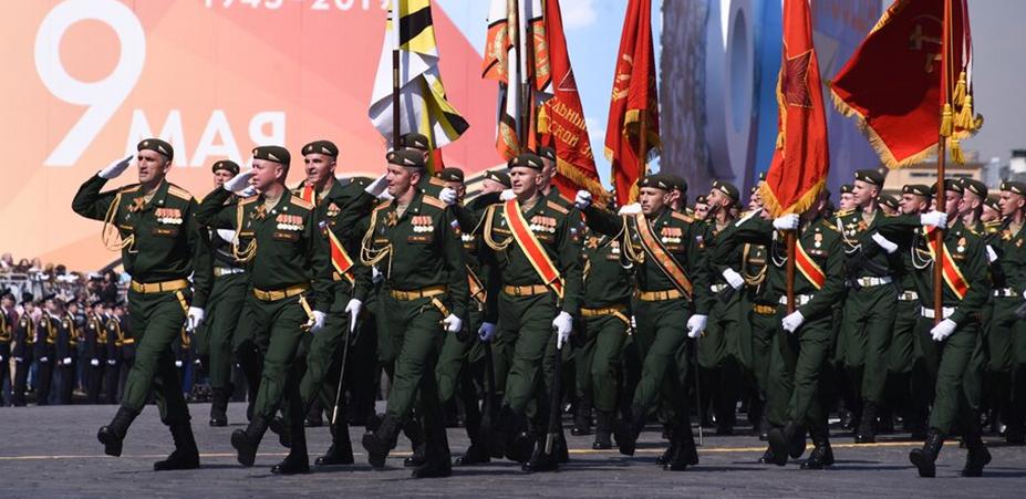 В Москве пройдет первая ночная тренировка парада Победы