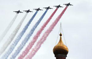 Плохая погода может стать препятствием для полноценного парада Победы в Москве