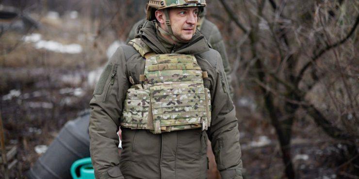 Зеленский прибыл в Донбасс с представителями G7 и ЕС