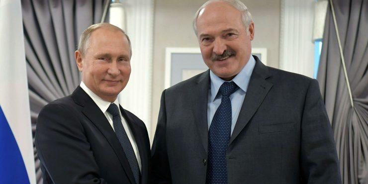 Состоялся разговор Путина и Лукашенко