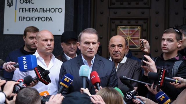 Киевский суд поместил Медведчука под домашний арест