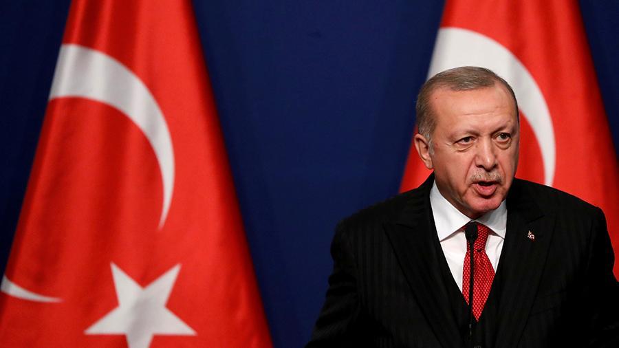 Турция поддерживает Палестину