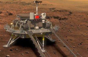 NASA поздравил Китай с успешной посадкой космического аппарата на Марс