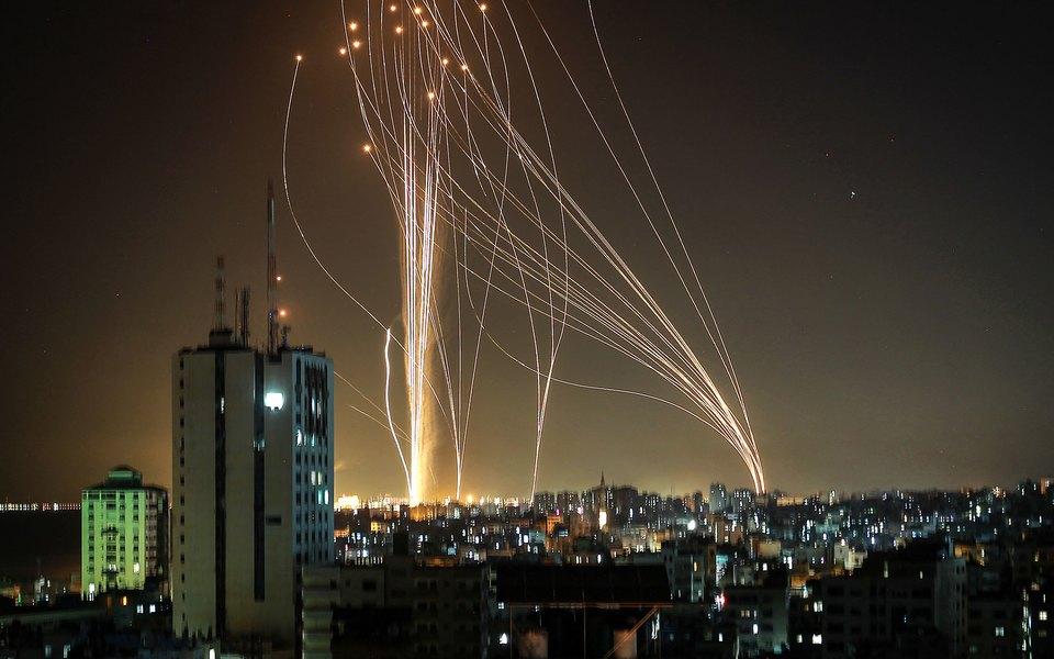 Израиль назвал число выпущенных Газой ракет за ночь