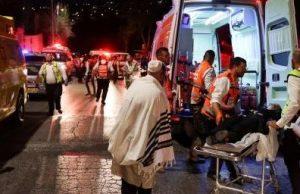 Число пострадавших в синагоге Израиля превысило 160 человек