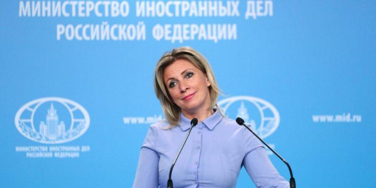 Захарова: Великобритания обвиняет РФ в своих же грехах