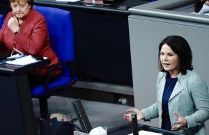 Кандидат в канцлеры Германии раскритиковала «Северный поток-2»
