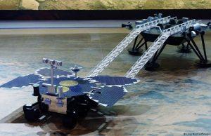 Китайский марсоход приступил к исследованию Марса