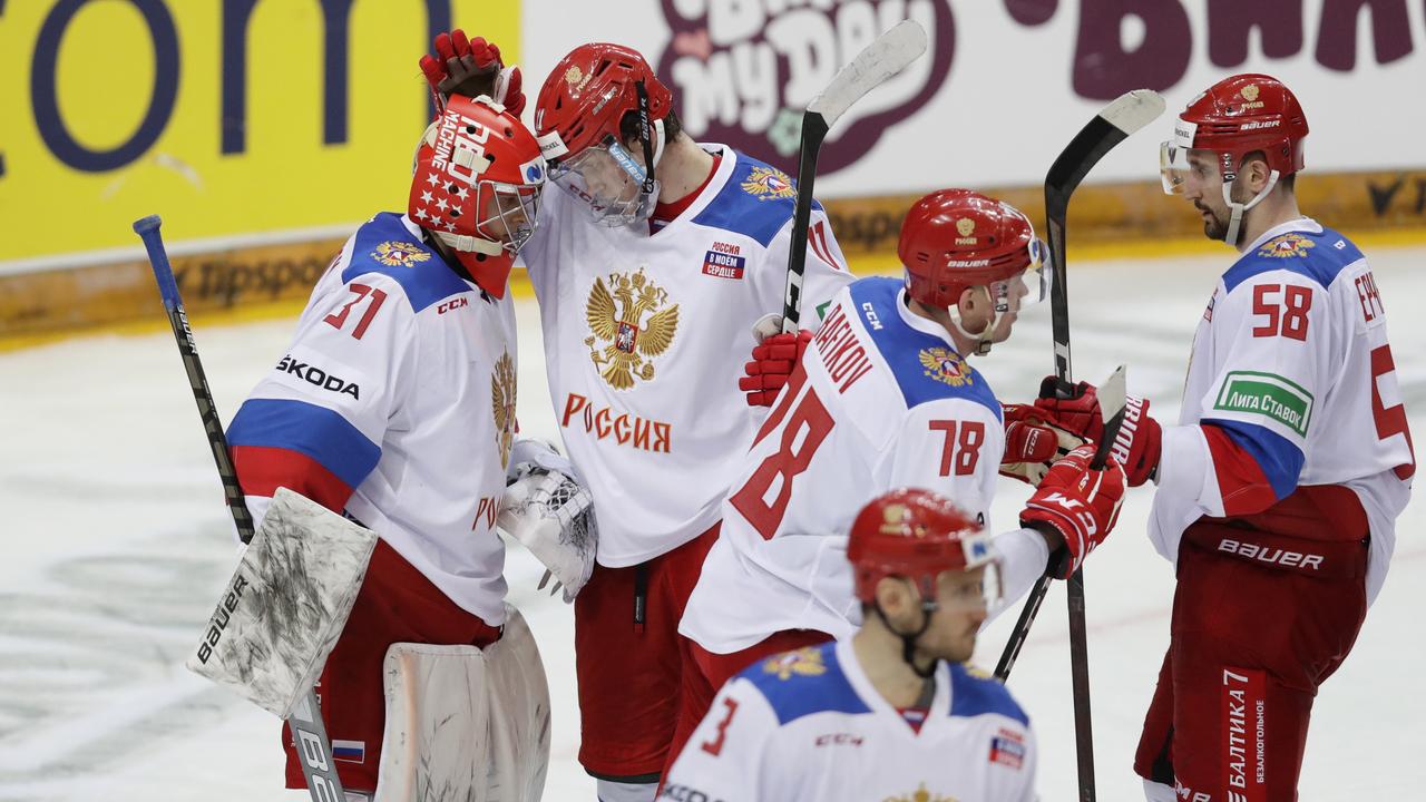 Сборная России по хоккею разгромила спортсменов из Великобритании