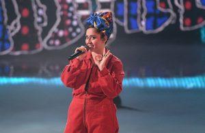 Манижа выступила в финале «Евровидения»