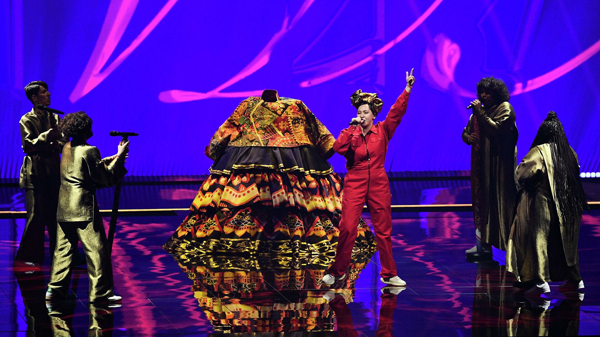 Какое место заняла Россия на Евровидение