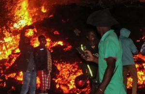При извержении вулкана в Конго погибли 5 человек