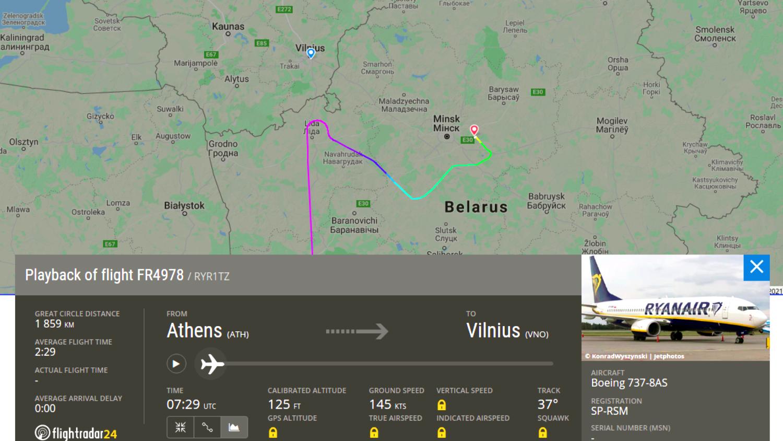 Генпрокуратура Польши возбудила дело в связи с принуждением самолета Ryanair к приземлению