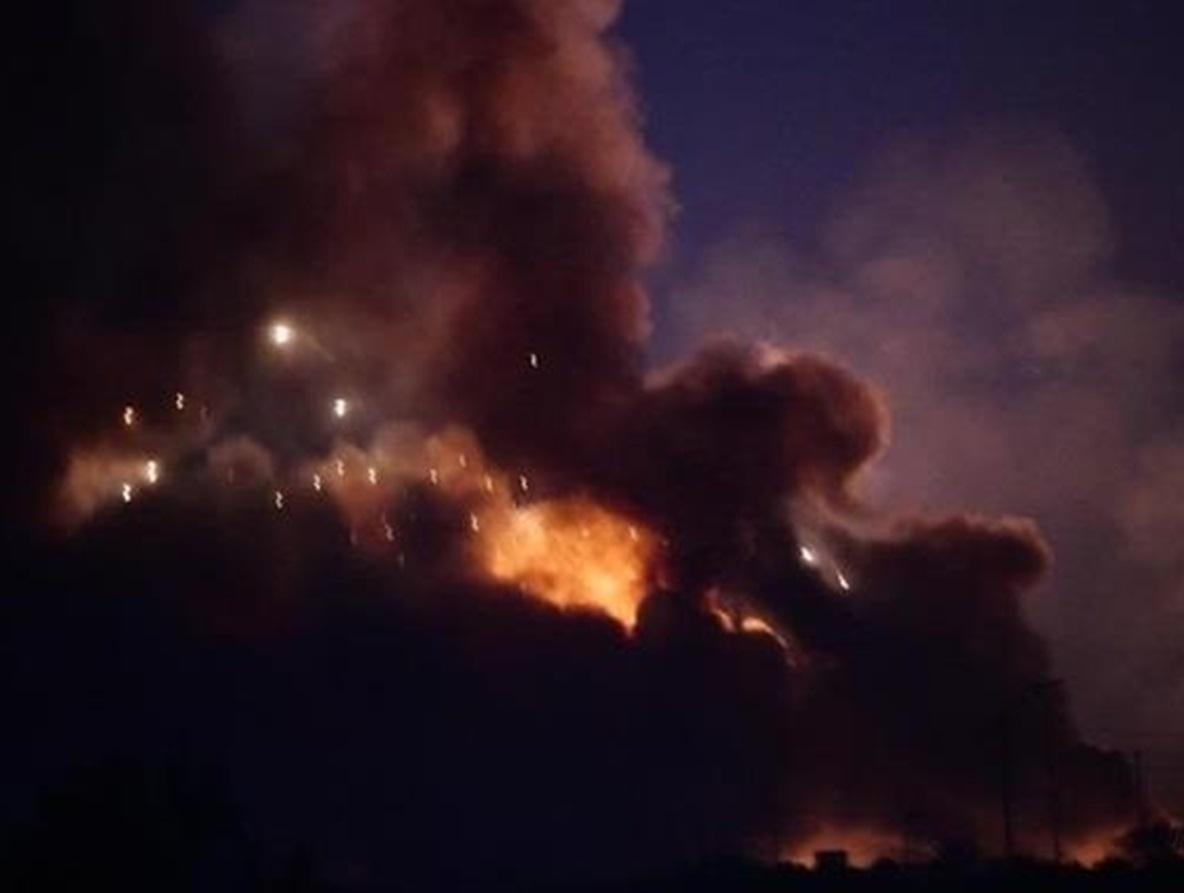Аэропорт Багдада был расстрелян ракетами