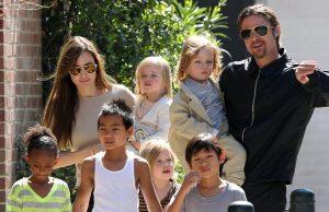 Брэд Питт выиграл суд у Анжелины Джоли и получил опеку над детьми