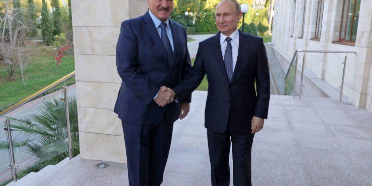 Лукашенко приехал в Сочи на встречу с Путиным