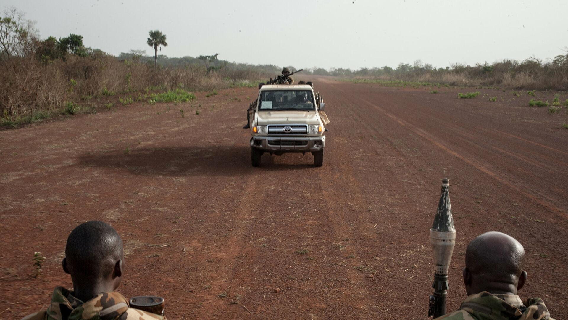 Трое россиян погибли при взрыве в Центральноафриканской Республике