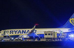 Самолет компании Ryanair сел в Берлине из-за сообщения о бомбе