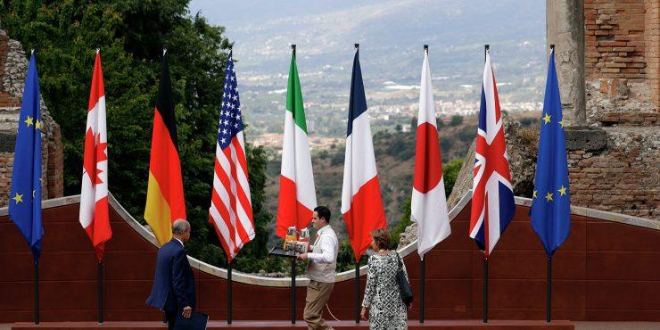 На встрече G7 Россию и Китай обсуждали больше всего