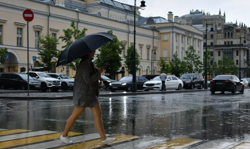 В Москве за день выпало около 75% месячной нормы осадков